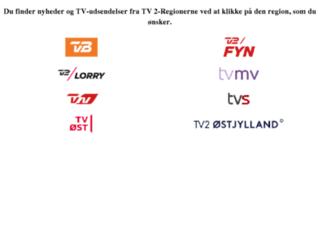 tv2regionerne.dk screenshot