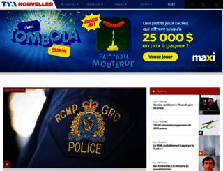 tvanouvelles.ca screenshot