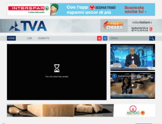 tvavicenza.gruppovideomedia.it screenshot