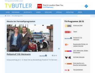 tvbutler.at screenshot
