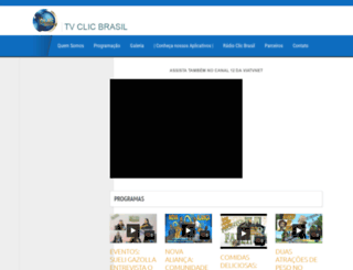 tvclicbrasil.com screenshot