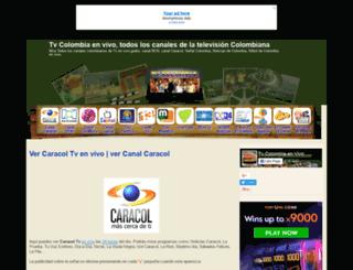 tvcolombiaenvivo.com screenshot