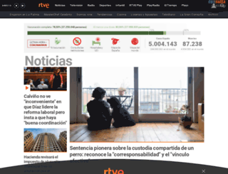 tve.es screenshot