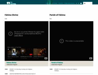 tvfatima.com screenshot