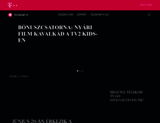 tvgo.hu screenshot