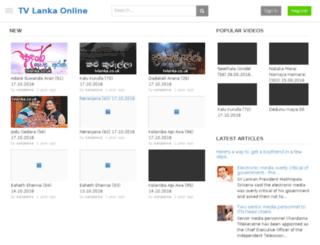 tvlanka.co.uk screenshot