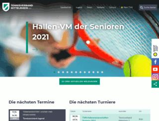 tvm-tennis.de screenshot