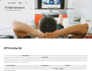 tvnetsolutions.com screenshot