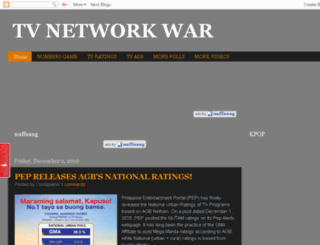 tvnetworkwar.blogspot.com screenshot