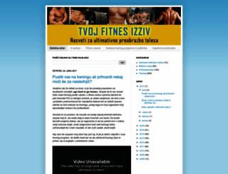 tvojfitnesizziv.net screenshot