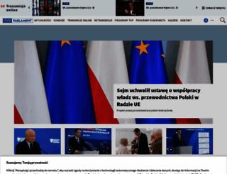 tvpparlament.pl screenshot