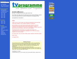 tvprogramme.net screenshot