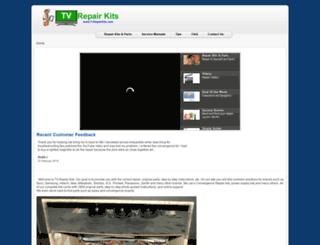 tvrepairkits.com screenshot