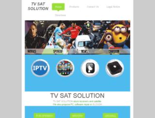 tvsatsolution.co.uk screenshot