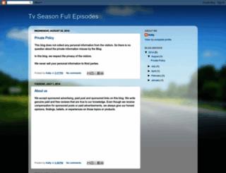 tvseasonfullepisodes.blogspot.com screenshot