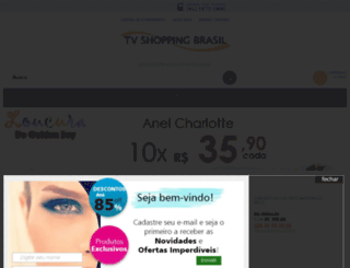 tvshoppingbrasil.com.br screenshot