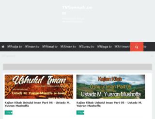 tvsunnah.com screenshot