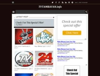 tvtambayan.info screenshot