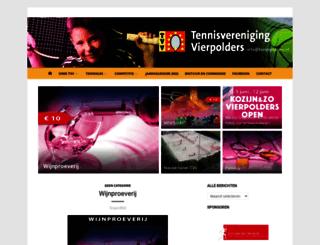 tvvierpolders.nl screenshot