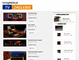 tvzaglebie.pl screenshot