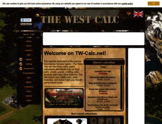 tw-calc.net screenshot