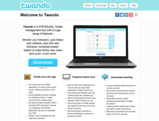 twando.com screenshot