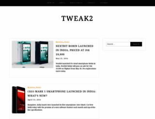 tweak2.com screenshot
