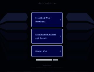 twebmaster.com screenshot