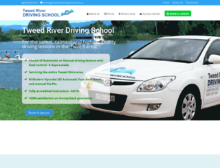 tweedriverdrivingschool.com.au screenshot