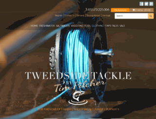 tweedsidetackle.co.uk screenshot