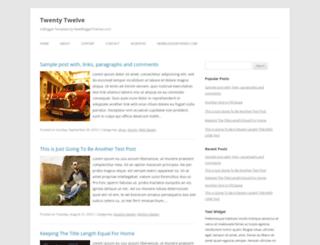 twenty-twelve-wp.blogspot.in screenshot