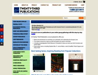 twentythirdpublications.com screenshot
