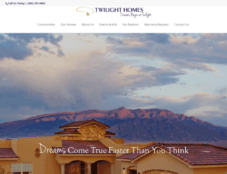 twilighthomesnm.com screenshot