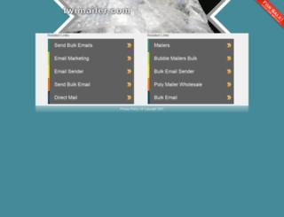 twimailer.com screenshot