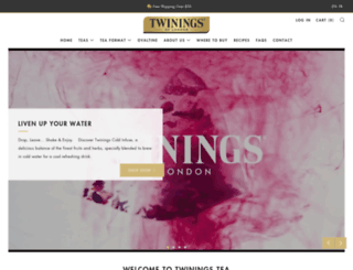twinings.ca screenshot