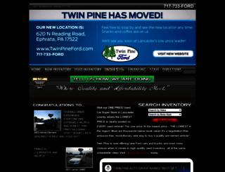 twinpineautogroup.com screenshot