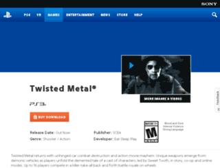 twistedmetal.com screenshot