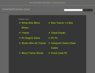 twistedtrainer.com screenshot