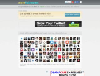 twitterfollowers.eu screenshot