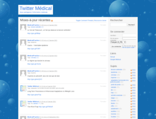 twittermedical.medespace.fr screenshot