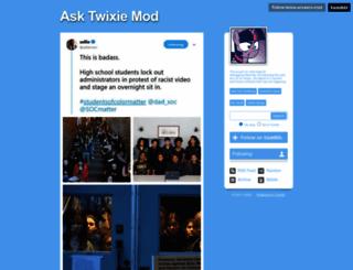 twixie-answers-mod.tumblr.com screenshot