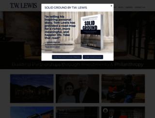 twlewis.com screenshot
