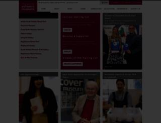 twmuseums.org.uk screenshot