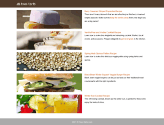 two-tarts.com screenshot