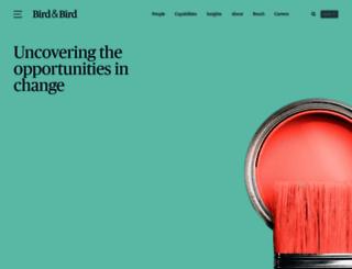 twobirds.com screenshot