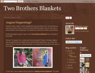 twobrosblankets.blogspot.com screenshot