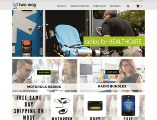 twowayradiosfor.com screenshot