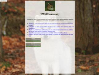 twsicommunity.com screenshot