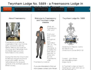 twynham-lodge.org.uk screenshot