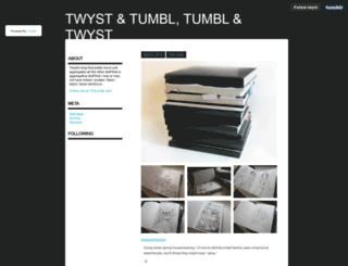 twyst.tumblr.com screenshot